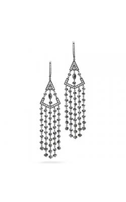 Ivanka Trump Black and White Earrings E0381 product image