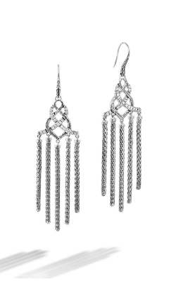 John Hardy Classic Chain Collection Earrings EBP993692DI product image