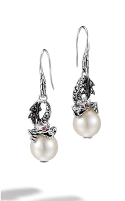 John Hardy Naga Earrings EBS659991AFRBBLS product image