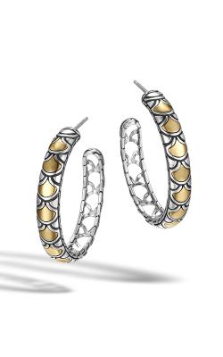 John Hardy Legends Naga Medium Hoop Earrings EZ65950 product image