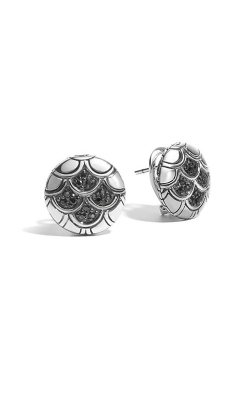 John Hardy Legends Naga Button Earrings EBS6510554BLS product image