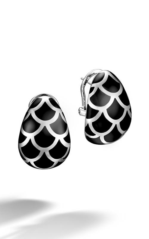 John Hardy Naga Earrings EN65942BL product image