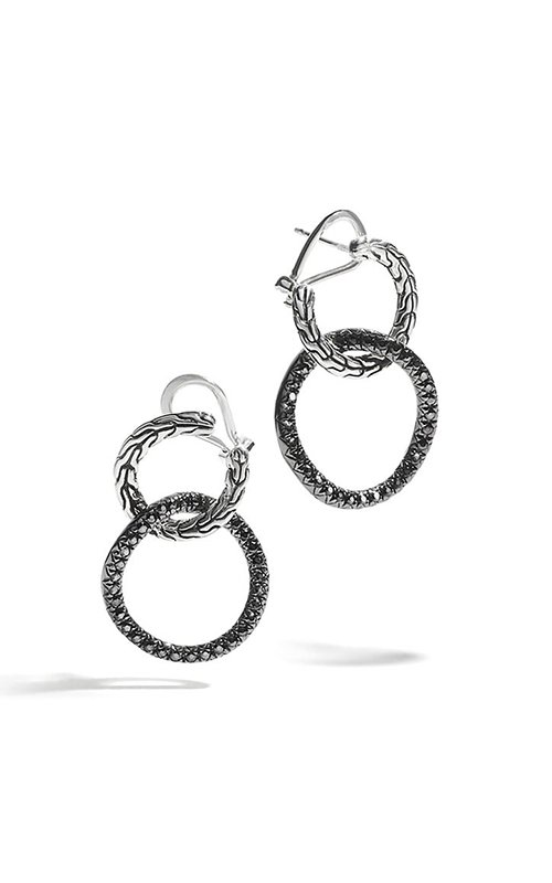 John Hardy Classic Chain Collection Earrings EBS99734BLS product image