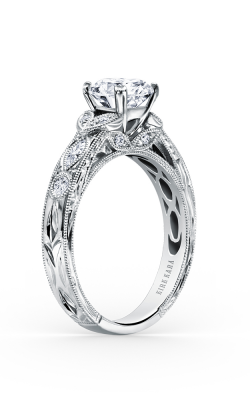 Kirk Kara Dahlia - 18k White Gold 0.27ctw Diamond Engagement Ring, K1120DC-R product image