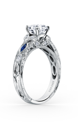 Kirk Kara Dahlia - 18k White Gold 0.12ctw Diamond Engagement Ring, K1120SDC-R product image