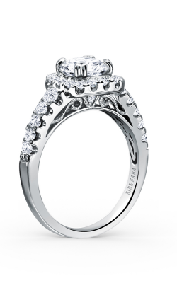 Kirk Kara Carmella - 18k White Gold 0.66ctw Diamond Engagement Ring, K117C65R product image