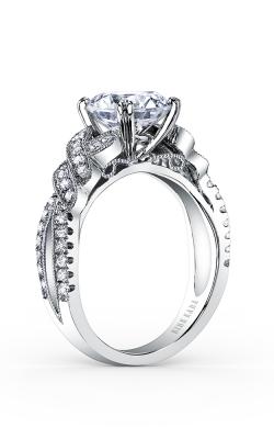Kirk Kara Pirouetta - 18k White Gold 0.33ctw Diamond Engagement Ring, K1330DG-R product image