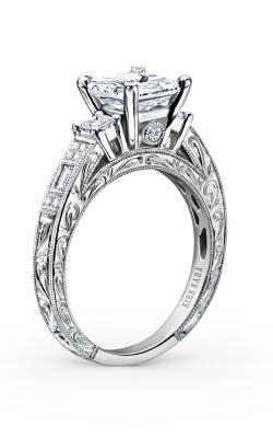 Kirk Kara Charlotte - 18k White Gold 0.39ctw Diamond Engagement Ring, K1383-R product image