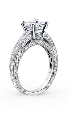 Kirk Kara Charlotte - 18k White Gold 0.26ctw Diamond Engagement Ring, K138S product image