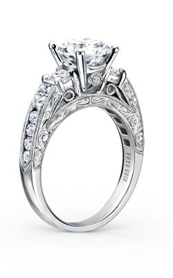Kirk Kara Charlotte - 18k White Gold 0.64ctw Diamond Engagement Ring, K1390DE-R product image