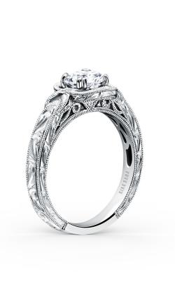 Kirk Kara Pirouetta - 18k White Gold 0.01ctw Diamond Engagement Ring, K149C6R product image