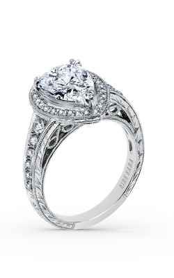 Kirk Kara Carmella - 18k White Gold 0.38ctw Diamond Engagement Ring, K15411X8P product image