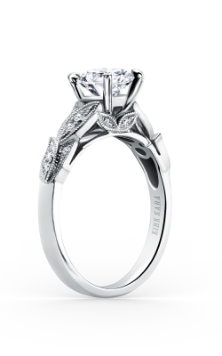 Kirk Kara Dahlia - 18k White Gold 0.11ctw Diamond Engagement Ring, K156R product image