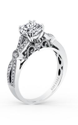 Kirk Kara Pirouetta - 18k White Gold  Engagement Ring, K165R product image