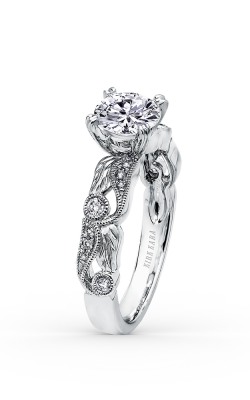 Kirk Kara Dahlia - 18k White Gold 0.16ctw Diamond Engagement Ring, K177R product image