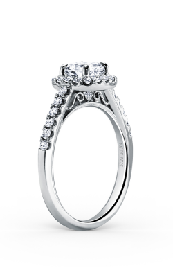 Kirk Kara Carmella - 18k White Gold 0.36ctw Diamond Engagement Ring, K184C6R product image