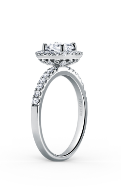 Kirk Kara Carmella - 18k White Gold 0.45ctw Diamond Engagement Ring, K185C65R product image