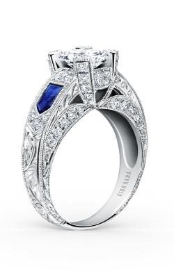 Kirk Kara Charlotte - 18k White Gold 0.46ctw Diamond Engagement Ring, SS6635-R product image