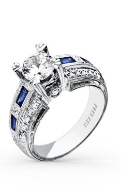 Kirk Kara Charlotte - 18k White Gold 0.20ctw Diamond Engagement Ring, SS6636-R product image