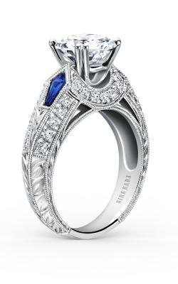 Kirk Kara Charlotte - 18k White Gold 0.37ctw Diamond Engagement Ring, SS6637-R product image