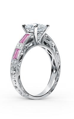 Kirk Kara Charlotte - 18k White Gold 0.09ctw Diamond Engagement Ring, SS6685P-R product image