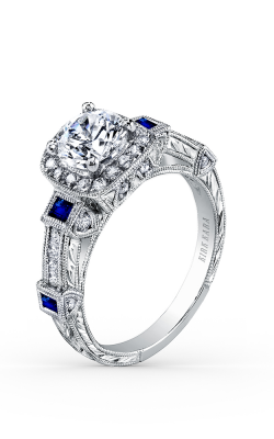 Kirk Kara Carmella - 18k White Gold 0.50ctw Diamond Engagement Ring, SS6757S-R product image