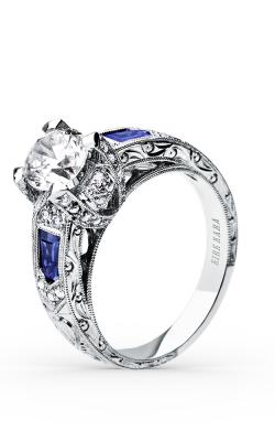 Kirk Kara Charlotte - 18k White Gold 0.30ctw Diamond Engagement Ring, SS6835-R product image
