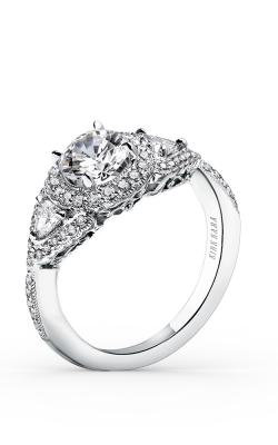 Kirk Kara Pirouetta - 18k White Gold 0.68ctw Diamond Engagement Ring, SS6860-R product image