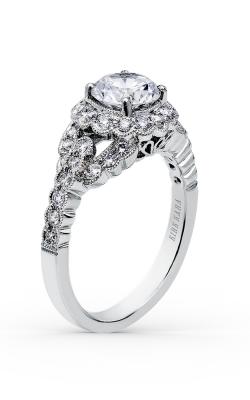 Kirk Kara Pirouetta - 18k White Gold 0.49ctw Diamond Engagement Ring, SS6954-R product image