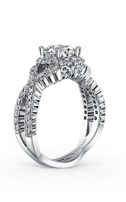 Kirk Kara Pirouetta - 18k White Gold 0.67ctw Diamond Engagement Ring, SS6955-R product image