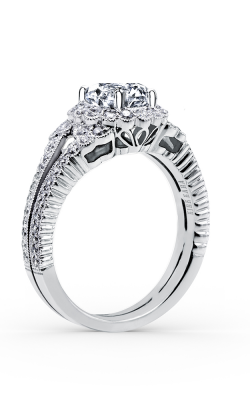 Kirk Kara Pirouetta - 18k White Gold 0.68ctw Diamond Engagement Ring, SS6956-R product image