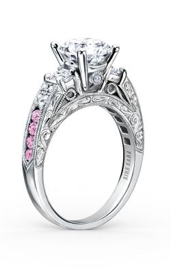 Kirk Kara Charlotte - 18k White Gold 0.40ctw Diamond Engagement Ring, K1390VDE-R product image
