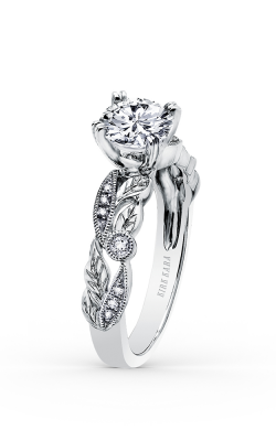 Kirk Kara Dahlia - 18k White Gold 0.11ctw Diamond Engagement Ring, K176R product image