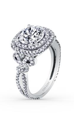 Kirk Kara Pirouetta - 18k White Gold 0.95ctw Diamond Engagement Ring, K172C8R product image