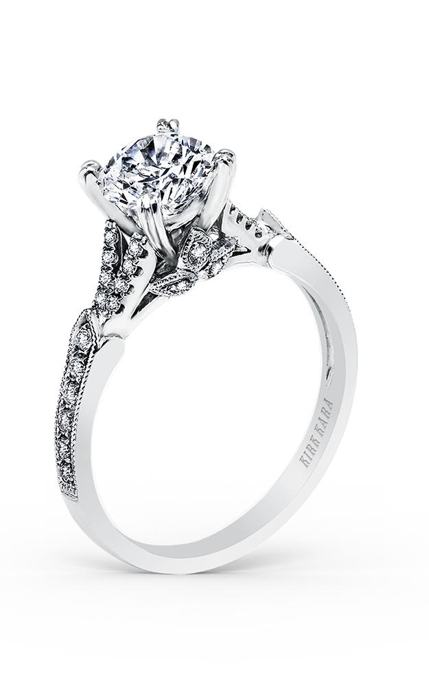 Kirk Kara Stella - 18k white gold 0.22ctw Diamond Engagement Ring, K1290DC-R product image