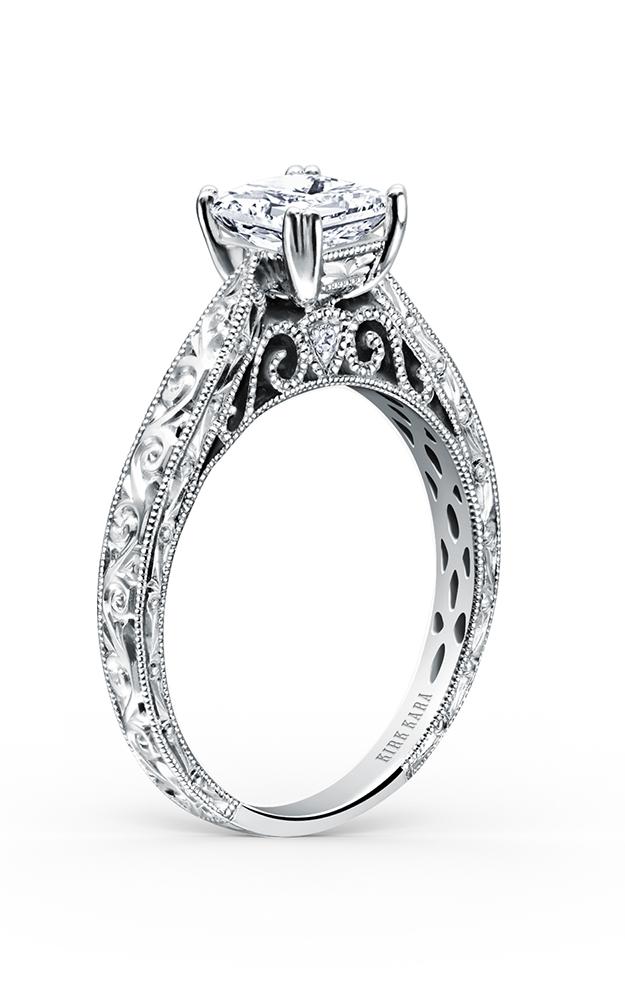 Kirk Kara Stella - 18k white gold 0.02ctw Diamond Engagement Ring, K161ENS product image