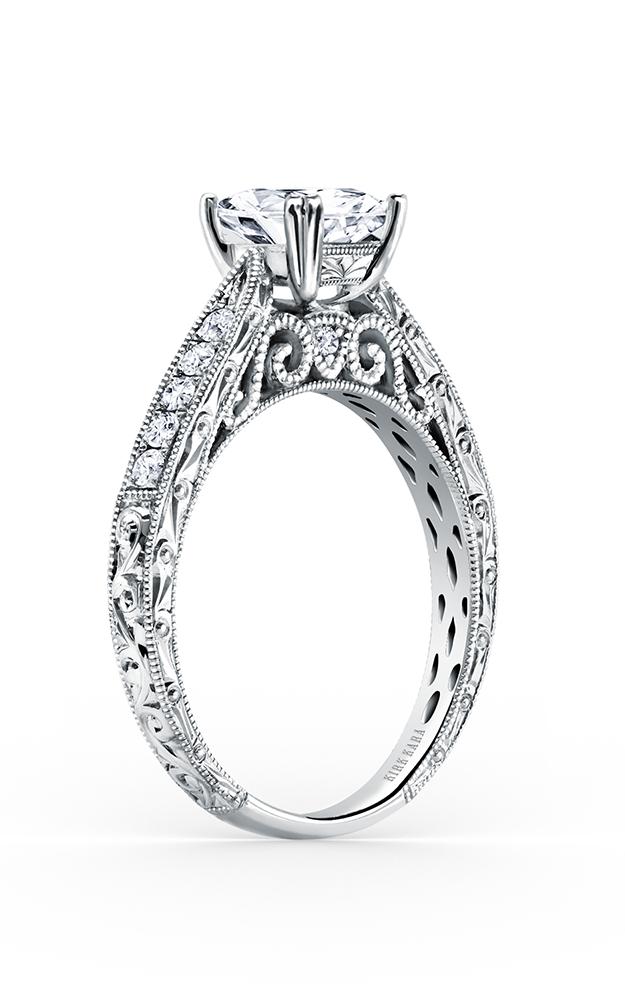 Kirk Kara Stella - 18k white gold 0.21ctw Diamond Engagement Ring, K161ES product image