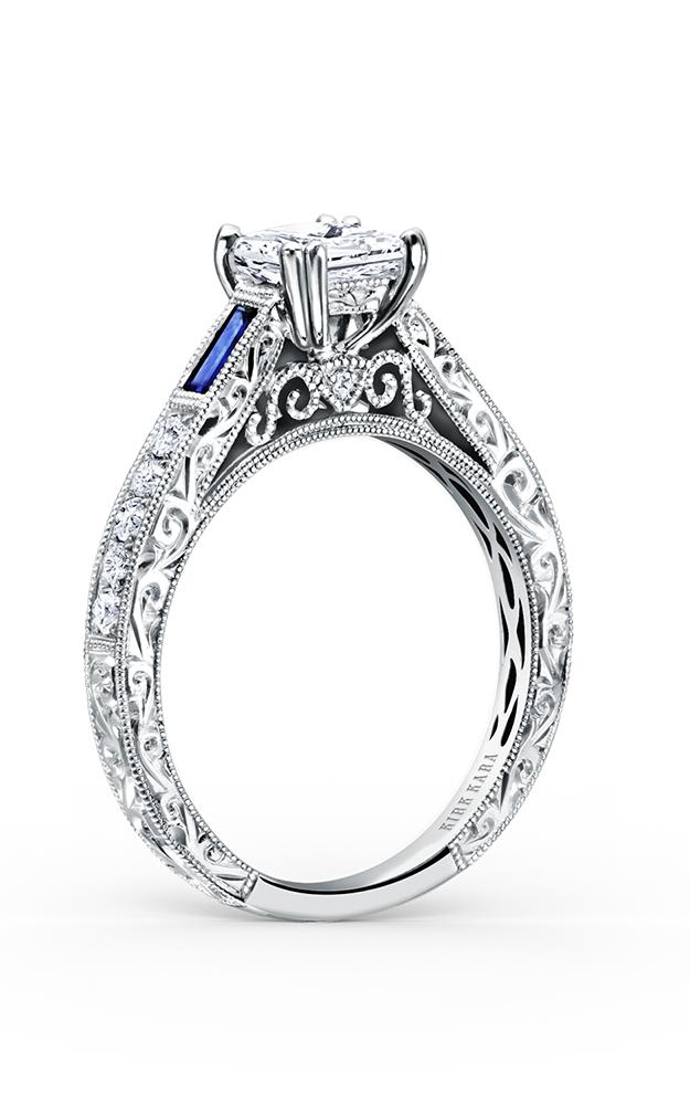 Kirk Kara Charlotte - 18k white gold 0.22ctw Diamond Engagement Ring, K170BDS product image