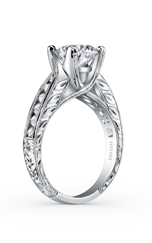 Kirk Kara Stella - 18k white gold 0.39ctw Diamond Engagement Ring, SS6766A-R product image