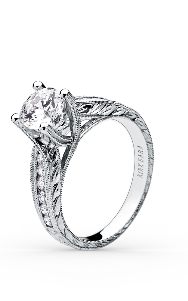Kirk Kara Stella - 18k white gold  Engagement Ring, SS6766-R product image