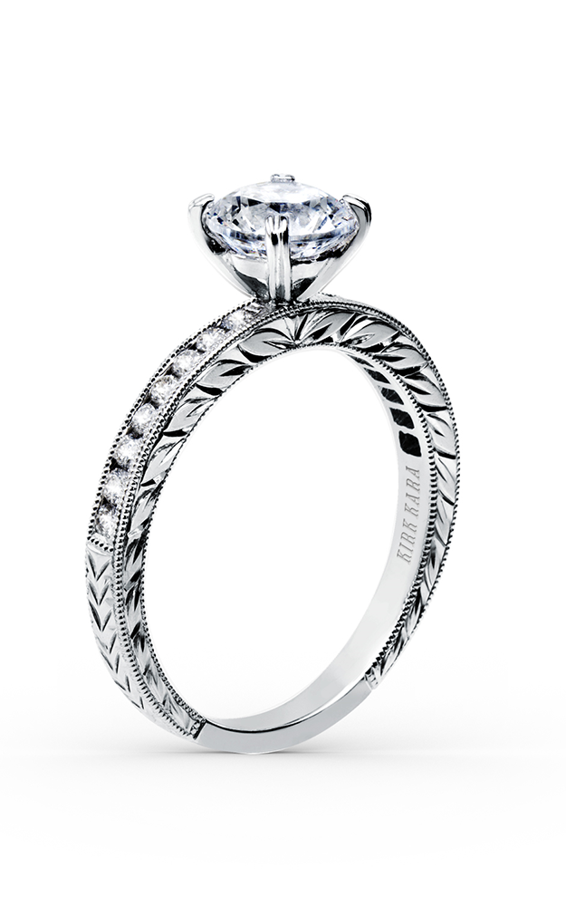 Kirk Kara Stella - 18k white gold 0.27ctw Diamond Engagement Ring, SS6766-R2 product image
