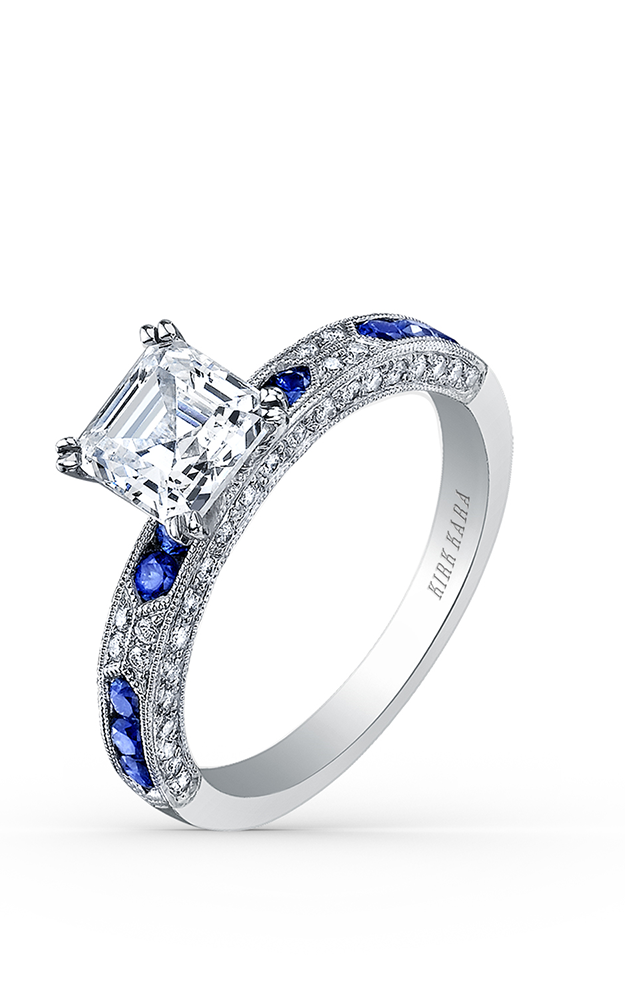 Kirk Kara Charlotte - 18k white gold 0.25ctw Diamond Engagement Ring, SS6852SA-R product image