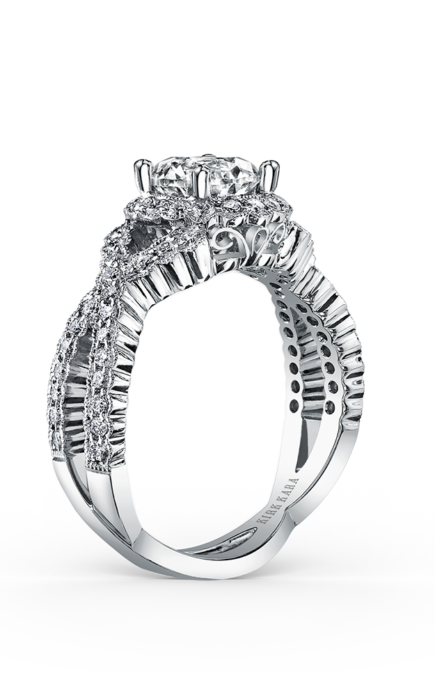 Kirk Kara Pirouetta - 18k white gold 0.67ctw Diamond Engagement Ring, SS6955-R product image