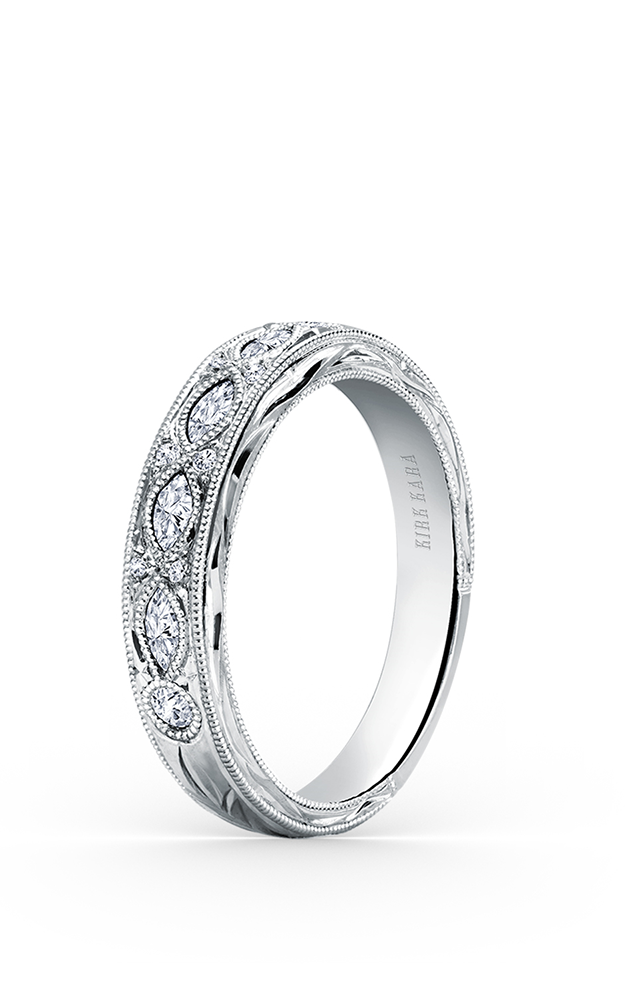 Kirk Kara Wedding band K1120D-B product image