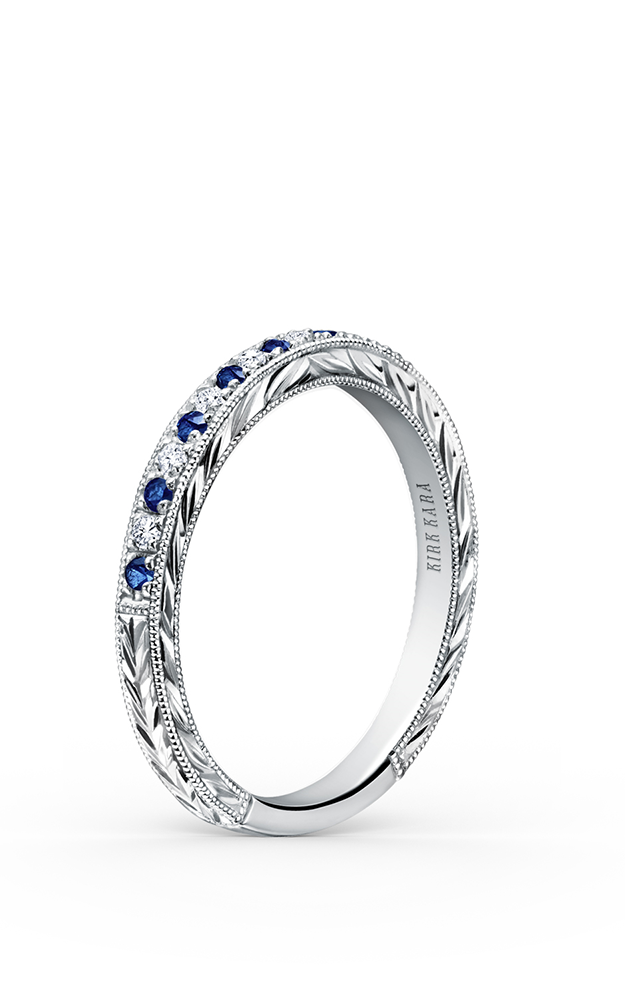Kirk Kara Wedding band K1170SD-B product image