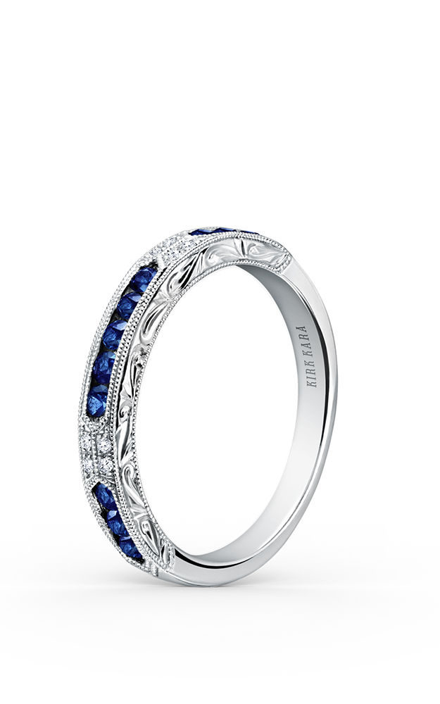 Kirk Kara Wedding band K1390SD-B product image