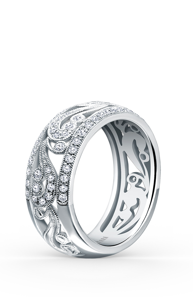 Kirk Kara Wedding band KF1010D-B product image