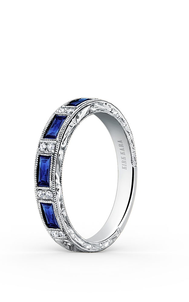 Kirk Kara Wedding band SS6685-B1 product image