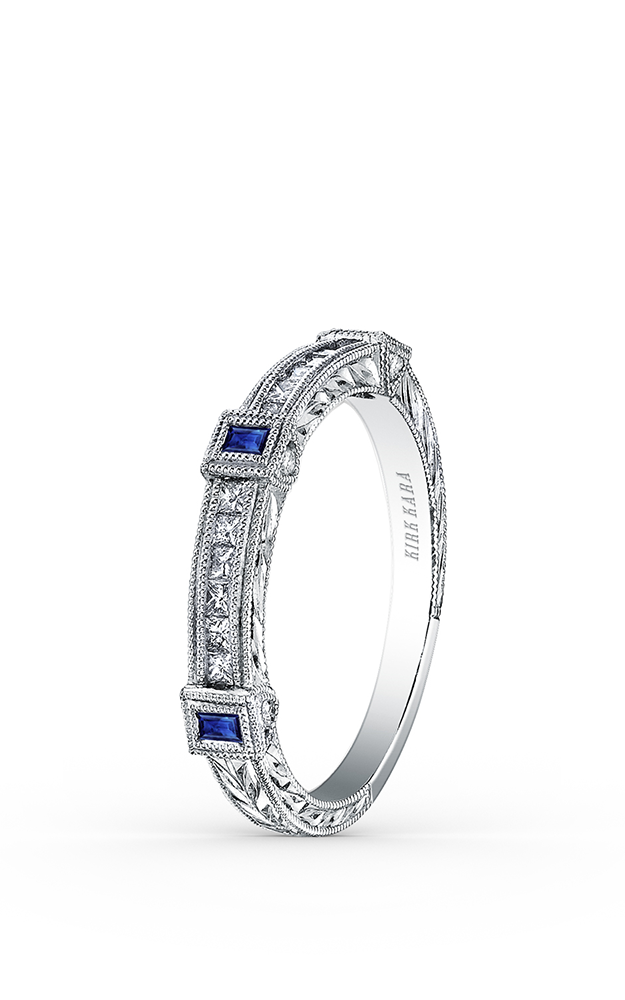 Kirk Kara Wedding band SS6757S-B product image
