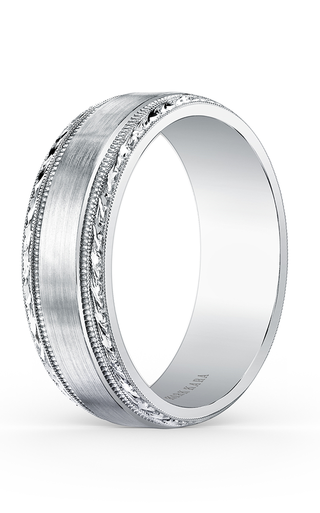 Kirk Kara Wedding band SS6974M-B product image